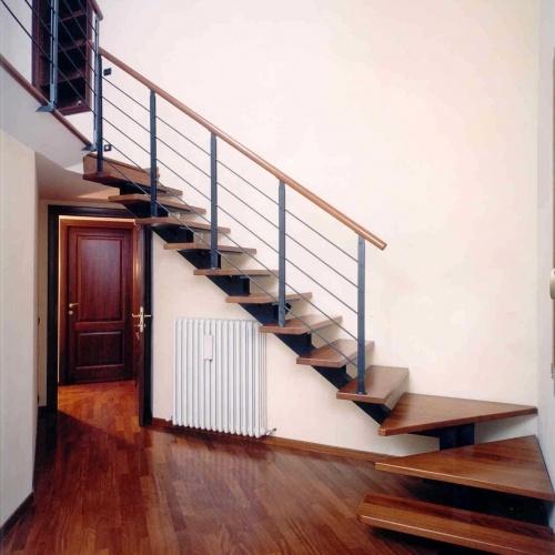 Scale per interni scale a giorno scale a chiocciola - Scale rivestite in legno per interni ...