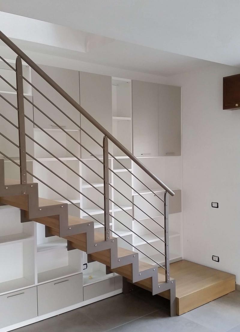 Visiona le installazioni di scale in ferro e legno per interni effettuate presso nostri clienti - Scale per interni catania ...