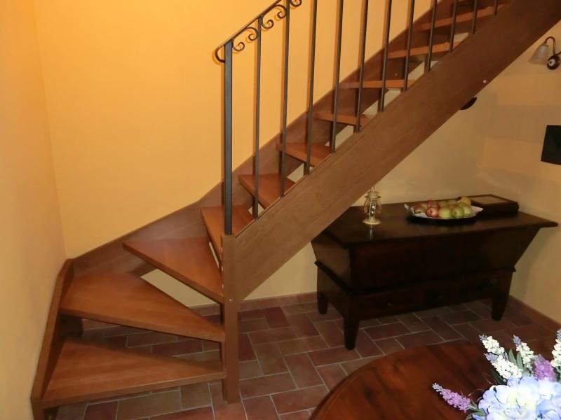 Federica - Scale rivestite in legno per interni ...